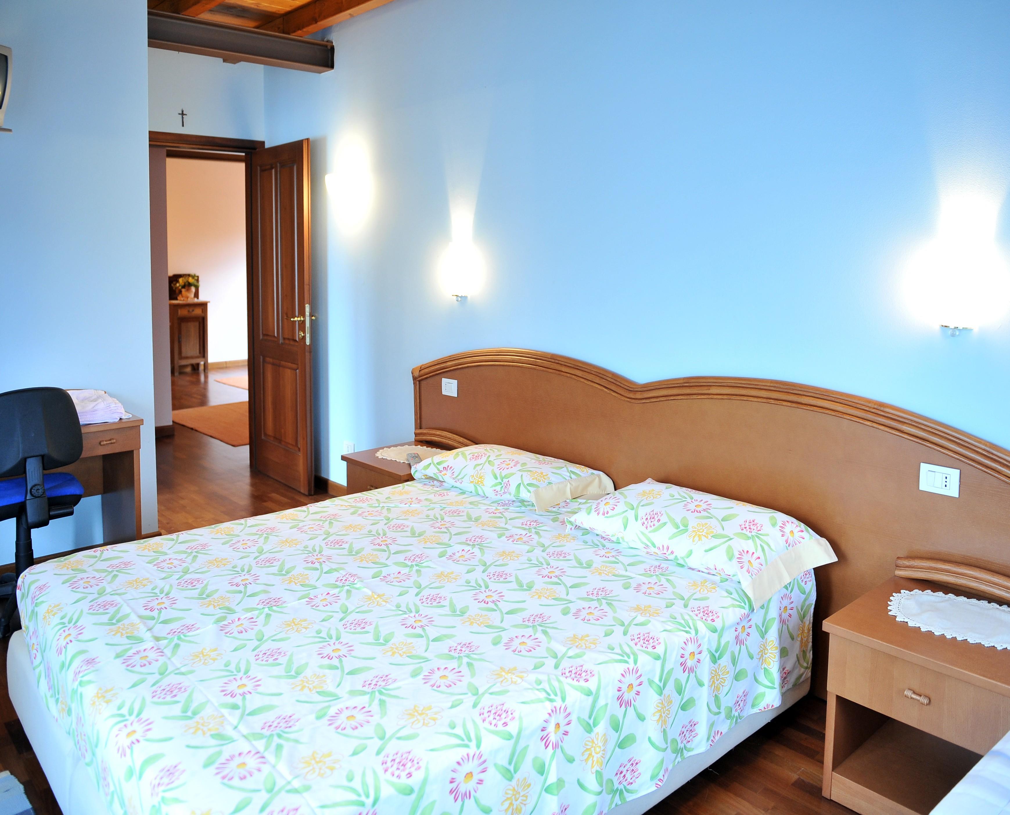 The light blue room